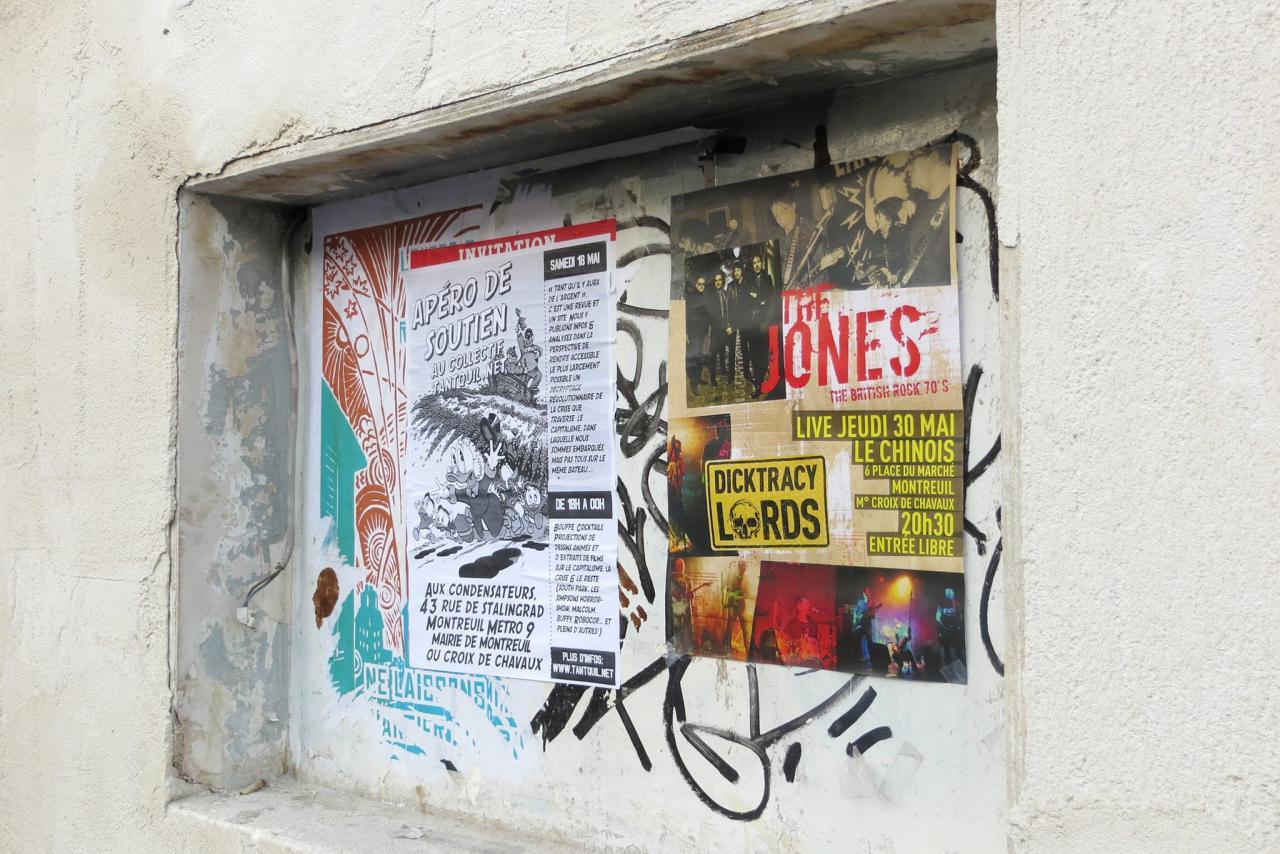 Affiche pour Le Chinois ( Montreuil)