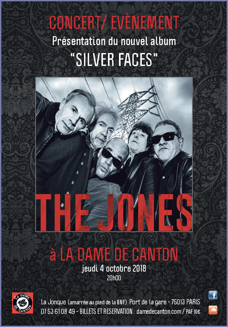 SILVER FACES -  Release DDC 04 Octobre 2018