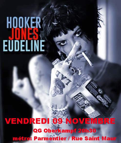 THE JONES + STEVE HOOKER + PATRICK EUDELINE