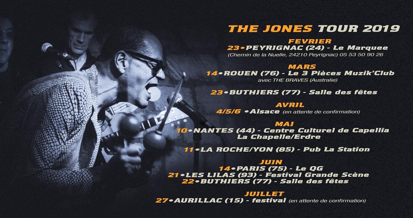 The jones 2019 tour 1