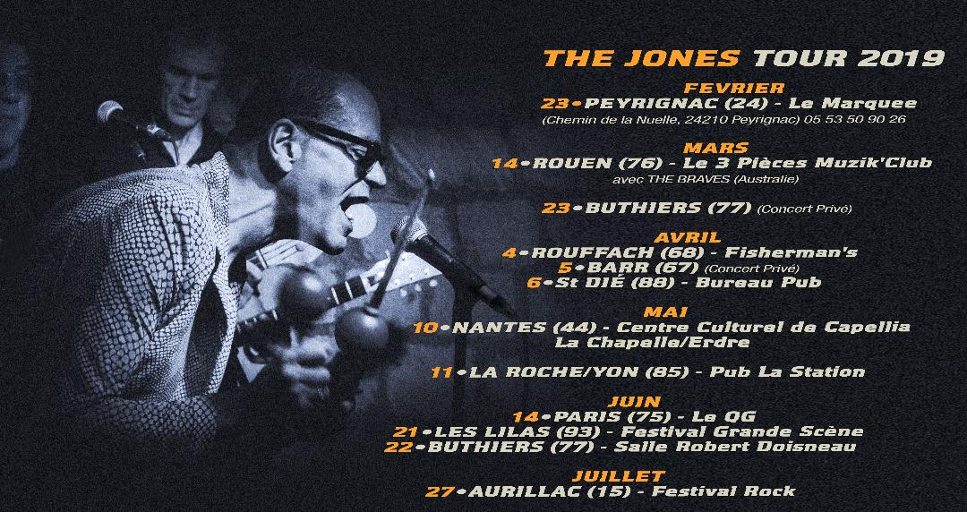 The jones tour 2021
